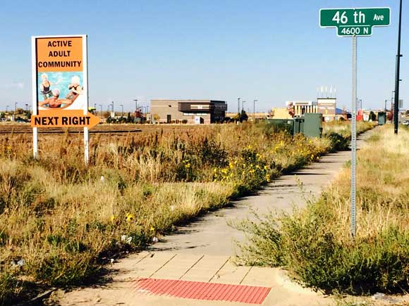 Gateway remains largely undeveloped, though Realtors' signs protruding from the bare acreage still populated by prairie dogs suggest change is on the horizon.