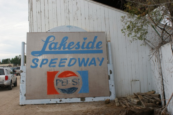 Racing ended at Lakeside Speedway in 1988.