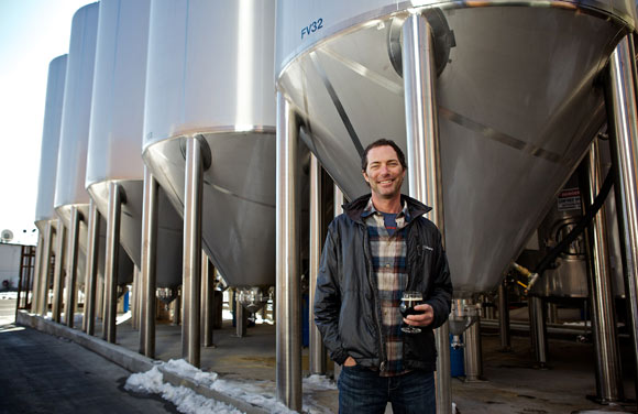 Brian Dunn opened Great Divide Brewing at 22nd and Arapahoe streets in 1994.