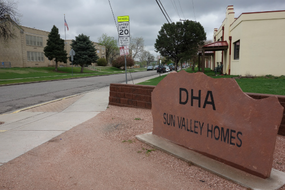 The new plan could call for triple the density of Sun Valley Homes, with 360 units.