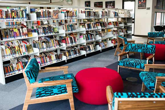 "The new Rodolfo ""Corky"" Gonzales Branch Library provides an oasis of creativity in the West Colfax neighborhood."