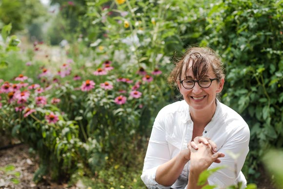 "Wendy McGill says insect farming ""hits so many areas at once."""