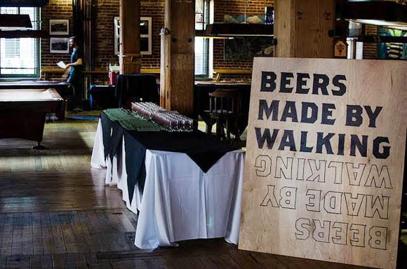 Our Mutual Friend is hosting the city's fourth Beers Made By Walking.