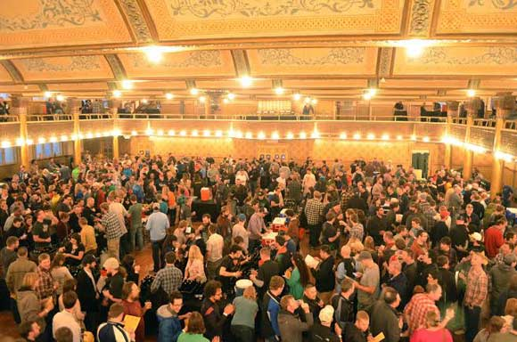 What the Funk!? has grown from about 30 breweries and 500 attendees in 2013 to 60 and 1,000 in 2015.