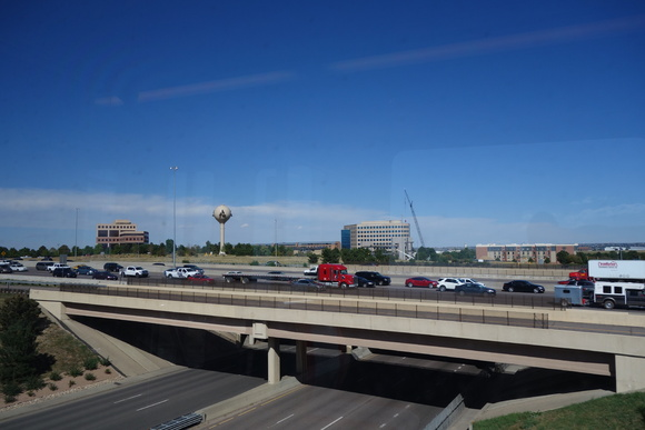Traffic on I-25 around 4 p.m.