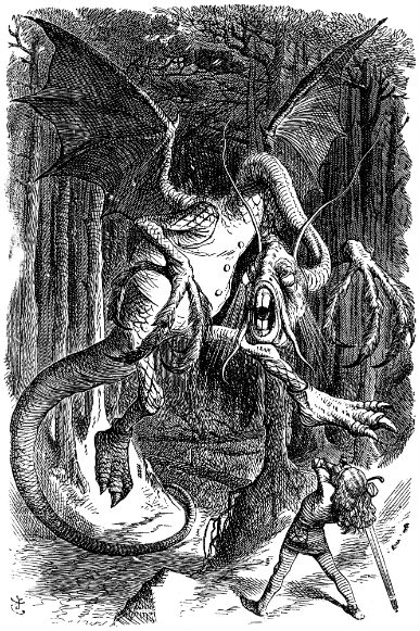 The Jabberwocky.