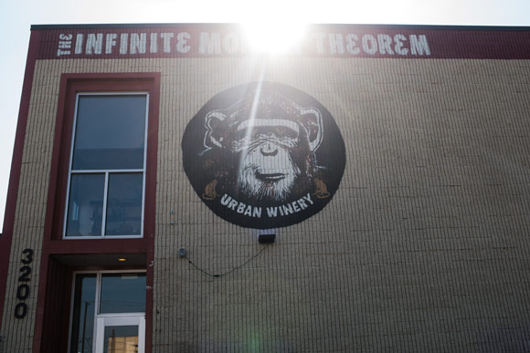 Infinite Monkey Theorem Urban Winery.
