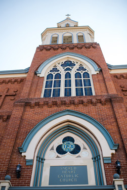 The Sacred Heart Catholic Church is the oldest continuously used Denver church.