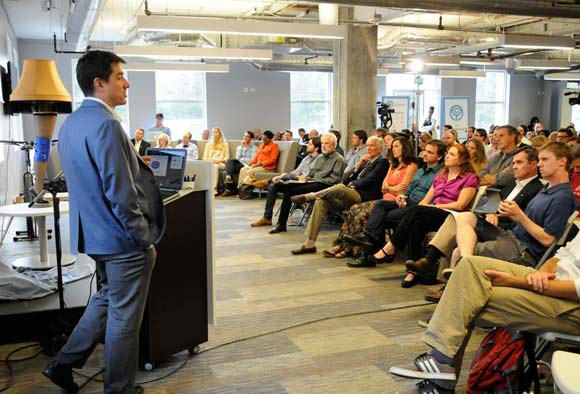 More than 10,000 people attended 200-plus free events during Denver Startup Week in 2015.