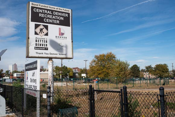 The city bought the site to build a recreation center.
