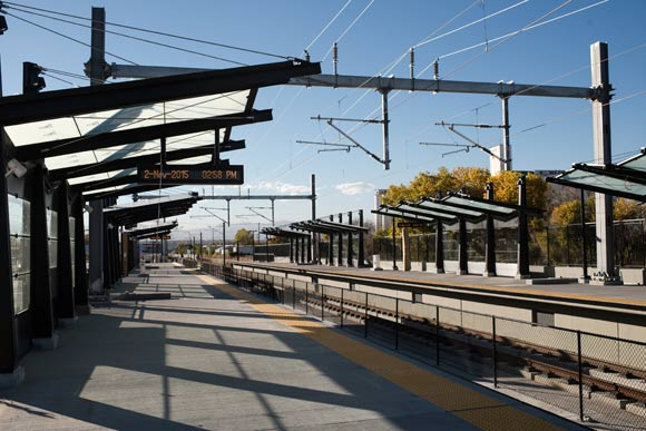 Park Hill Village is just two rail stops from Denver Union Station.