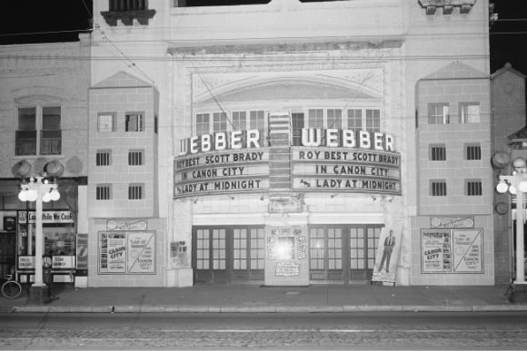 The Webber Theater opened in 1917.