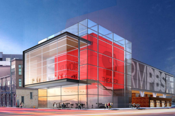 A rendering of the new Rocky Mountain PBS building.