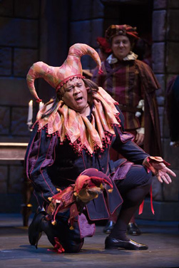 "Opera Colorado says its casting is color blind. Gordon Hawkins performs the lead in ""Rigoletto."""