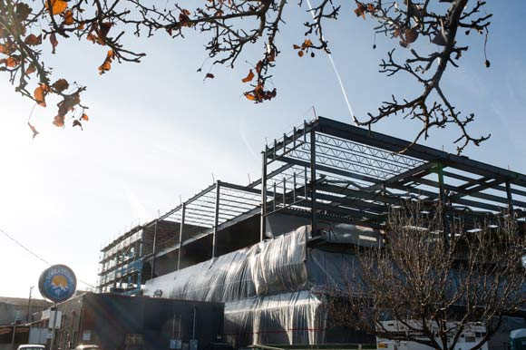 The Lab, expected to be completed in June, is a 78,576-square-foot speculative office building.
