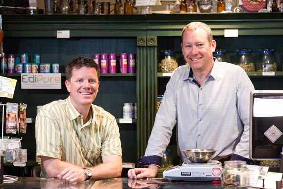 Tim Cullen and Ralph Morgan own two marijuana dispensaries in Denver: Colorado Harvest Company and Evergreen Apothecary.