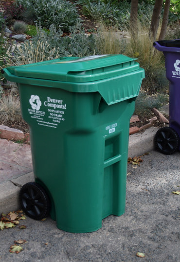 About 7,000 homes in Denver currently have green carts.