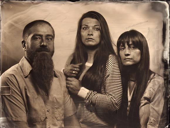 Patrick Andrade's throwback RELIC studio uses collodion wet-plate photo processes.