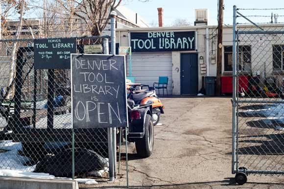 The Denver Tool Library has attracted more than 300 members.