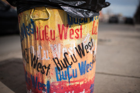 In 2007, BuCu West Development Association organized a public art initiative that has aimed to replace graffiti with colorful artwork.