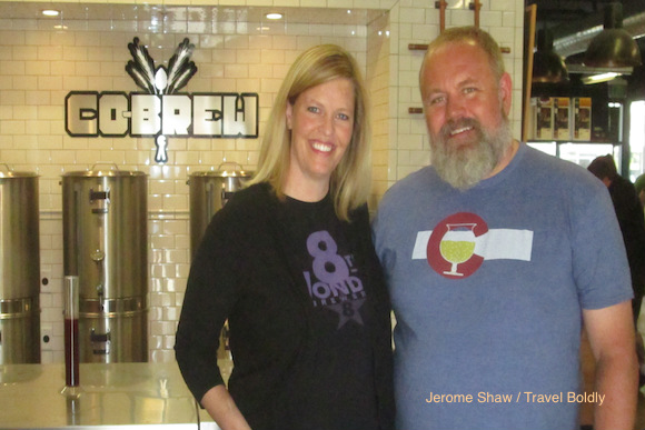 Janna and Jamie Williams of CO-Brew.