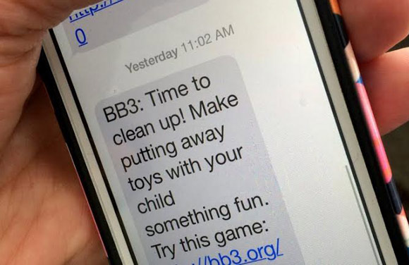 Bright by Text's messages provide tips for parents of young children.