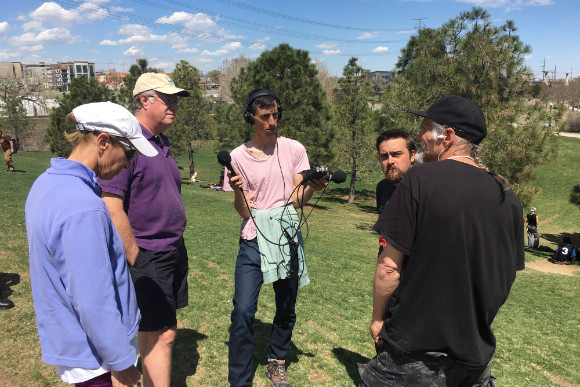 Changing Denver helped facilitate a dialogue between neighborhood residents andStoner Hill regulars.