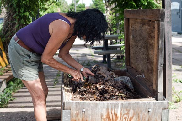 Judy Elliott Of Denver Urban Gardens Has Been Teaching Backyard Composting  For 25 Years.