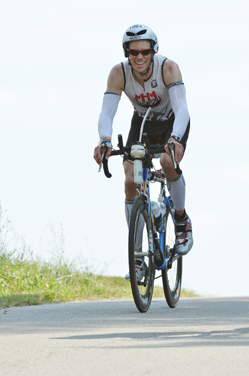 Eric Gutknecht has competed in four Ironman competitions.