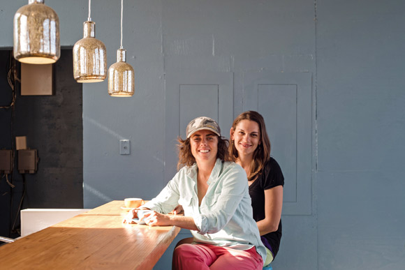 Prodigy co-founders Stephanie Frances, left, and Hillary Frances.