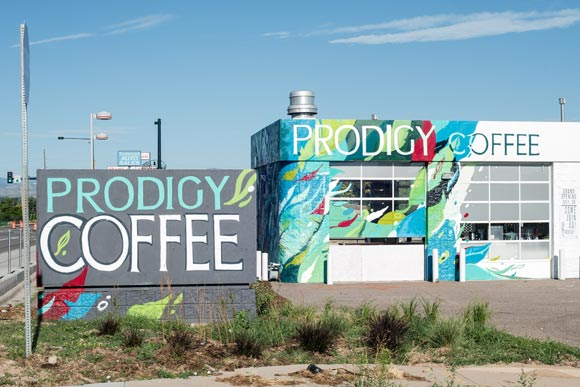 Prodigy Coffeehouse is a new cafe and social venture in Elyria-Swansea.