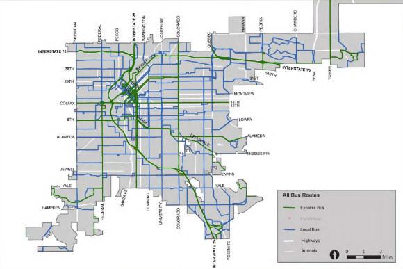Connecting Denver S Transit Deserts