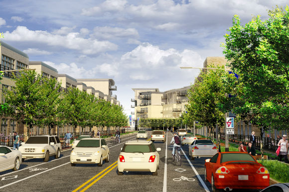 Sun Valley is one of 11 Target Cities projects for EcoDistricts.