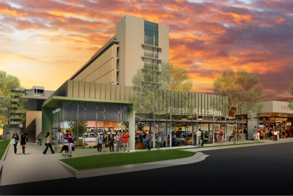 The former CU Health Sciences Center will be remade as mixed-use 9th & Colorado.