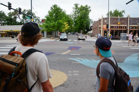 "The collaborative ""Iconic Colfax: Where People Meet the Street."""