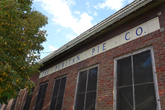 The Puritan Pie Company in Curtis Park has served as a workshop and warehose for the past 50 years.