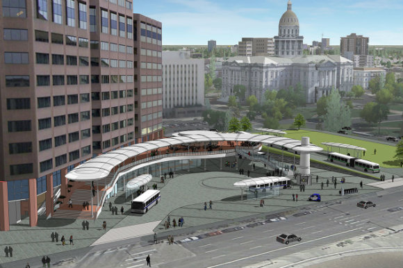 Civic Center Station is undergoing a $26 million overhaul.