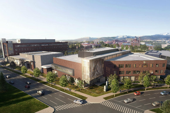 CU Denver's Student Wellness Center is expected to open in early 2018.