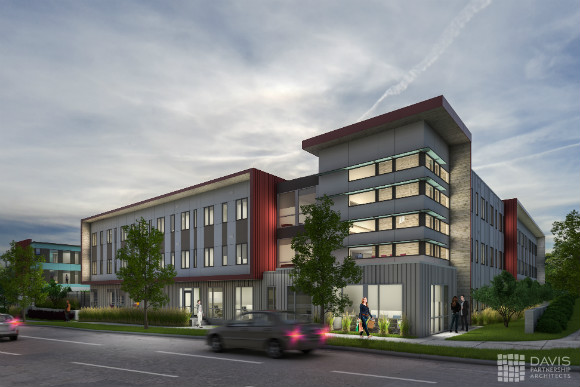 Sanderson Apartments will be the largest supportive housing project for the Mental Health Center of Denver.