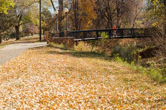 The High Line Canal Trail was designated a National Recreation Trail in 1978.