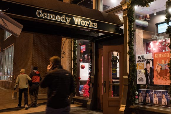 Comedy Works is a big driver of business for Larimer Square's eateries.