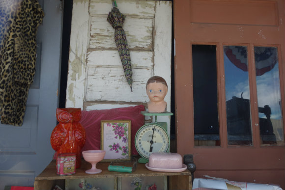 Antique shops are being supplanted by other businesses.