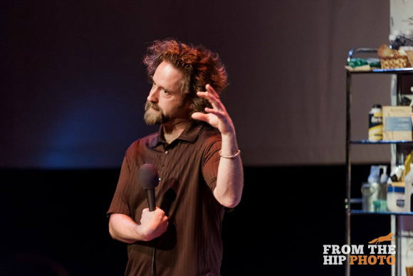 Josh Blue is one of many local comedians who have shared stories at The Narrators.