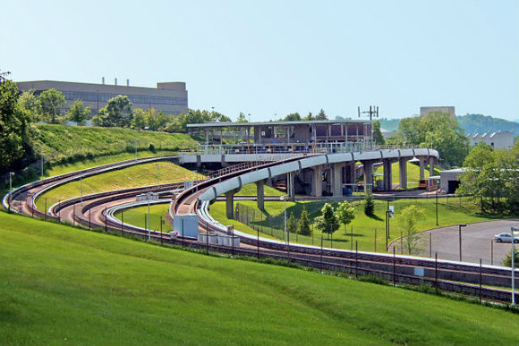 The PRT system in Morgantown opened in 1970.