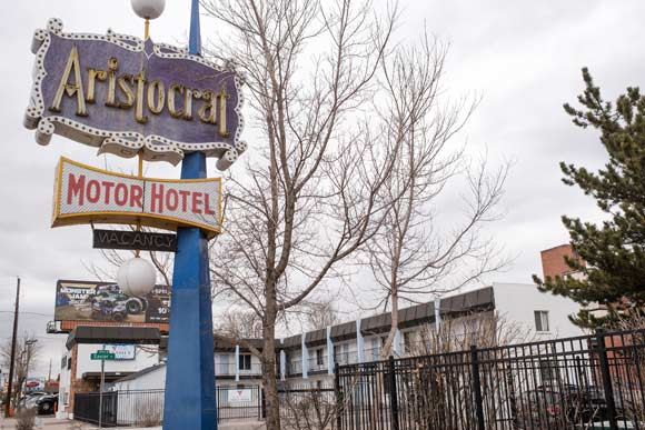 The Family Motel serves an estimated 620 people a week.