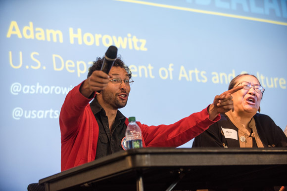 Adam Horowitz's organization is called the U.S. Department of Arts and Culture.