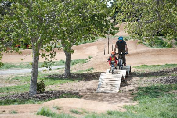 Denver Parks and Recreation opened a $1.8 million, 7.5-acre mountain bike area at Ruby Hill Park in the summer of 2016.