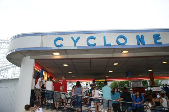 The Cyclone is worth the wait.