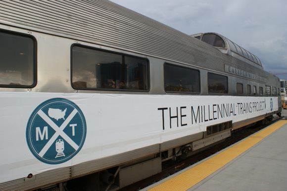The Millennial Trains Project is crossing the country in 10 days.