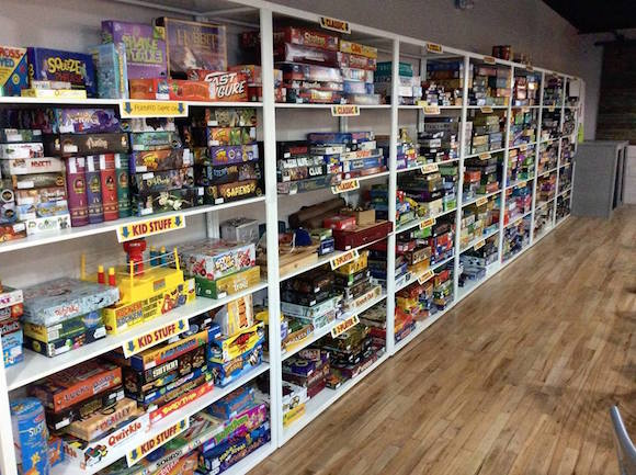 Board Game Republic's game repository includes more than 600 games.